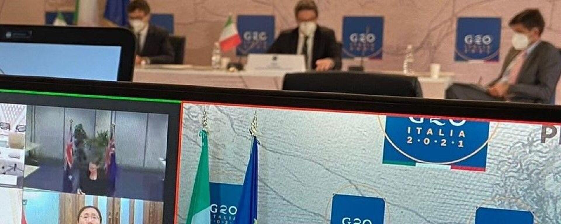 G20 Italia - Sputnik Italia, 1920, 02.01.2021