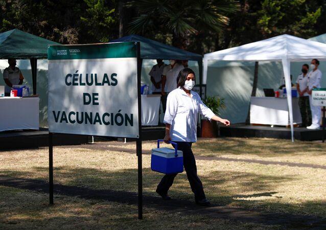 Vaccinazione nel Messico