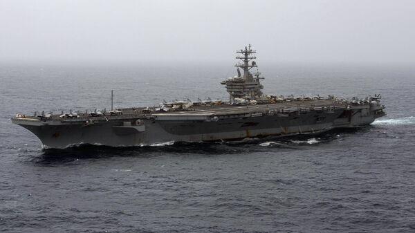 Portaerei USS Nimitz - Sputnik Italia