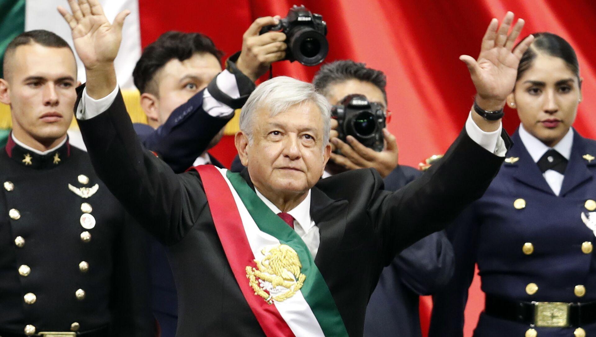 Andrés Manuel López Obrador  - Sputnik Italia, 1920, 20.04.2021
