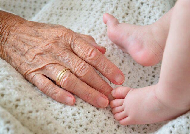 Nonna e bebé