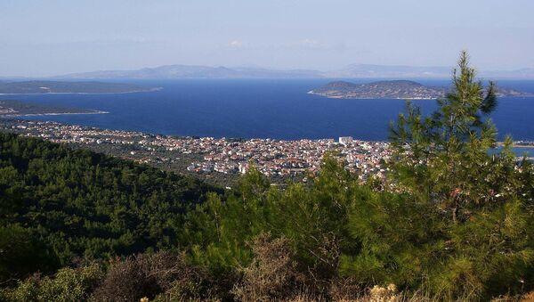 Vista della penisola di Urla-nella parte occidentale della Turchia - Sputnik Italia