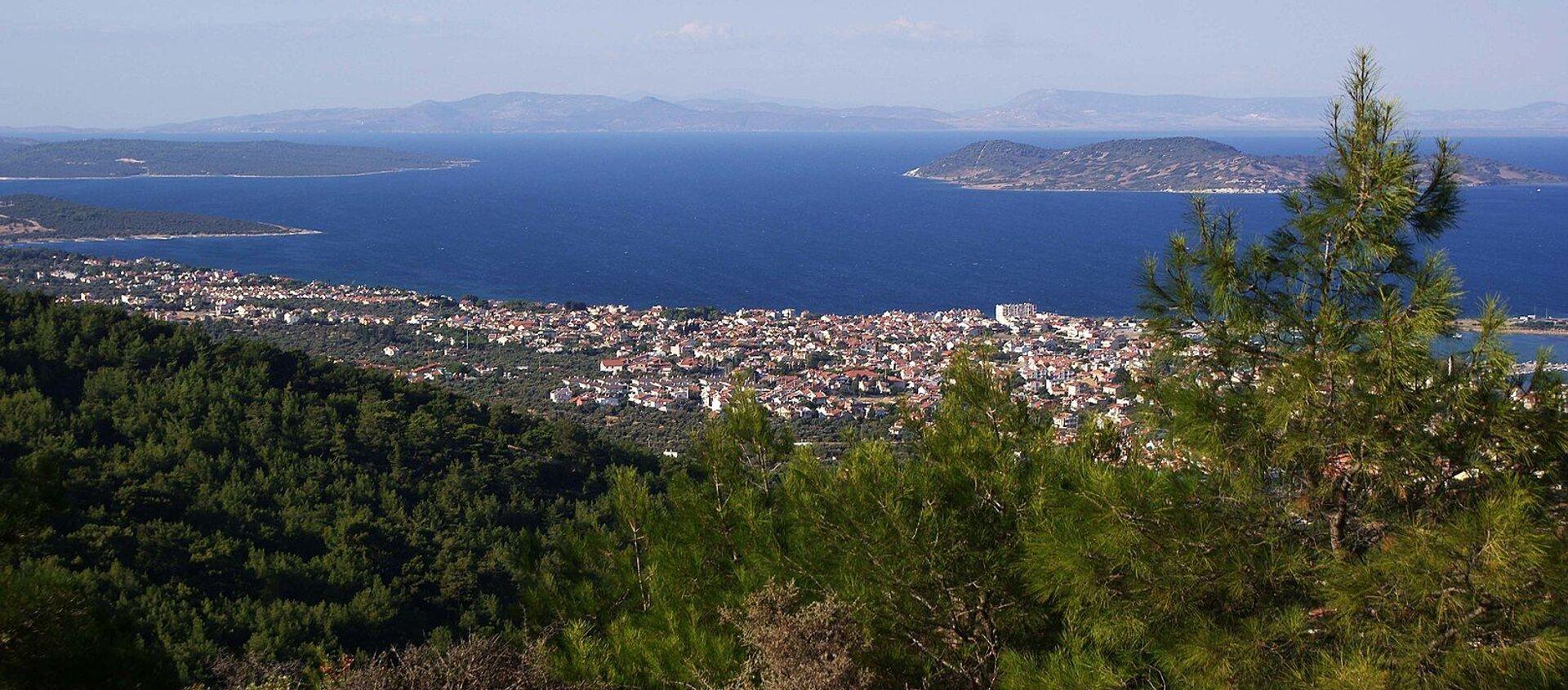Vista della penisola di Urla-nella parte occidentale della Turchia - Sputnik Italia, 1920, 08.01.2021