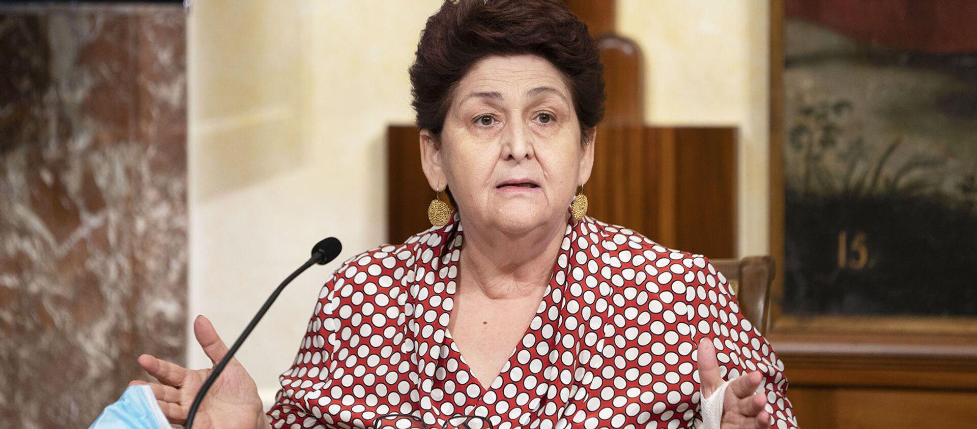 Il Ministro delle Politiche Agricole Alimentari e Forestali e del Turismo, Teresa Bellanova - Sputnik Italia, 1920, 14.02.2021