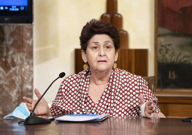 Il Ministro delle Politiche Agricole Alimentari e Forestali e del Turismo, Teresa Bellanova