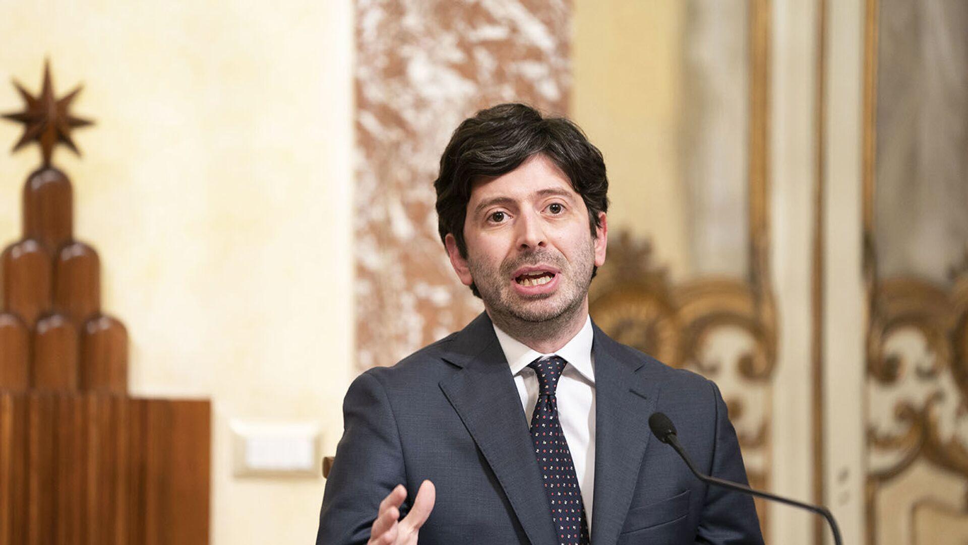 il Ministro della Salute Roberto Speranza - Sputnik Italia, 1920, 14.06.2021