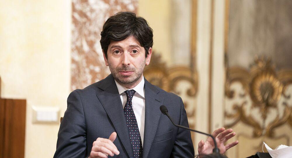Ministro della Salute Roberto Speranza