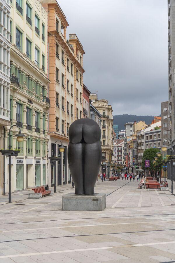 Culis Monumentalibus, ovvero Culo Monumentale nella città spagnola di Oviedo.  - Sputnik Italia