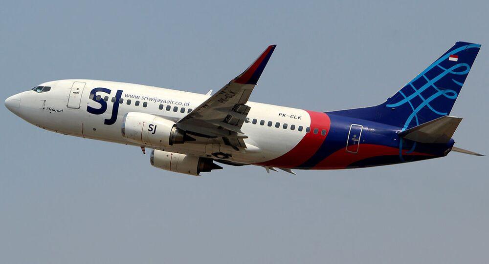 Un velivolo della Sriwijaya Air