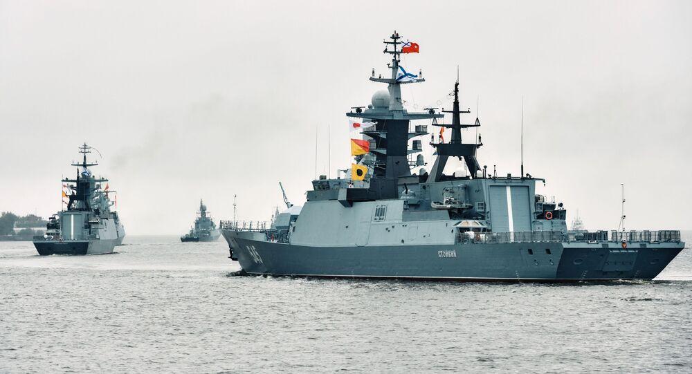 Corvetta militare russa (foto d'archivio)