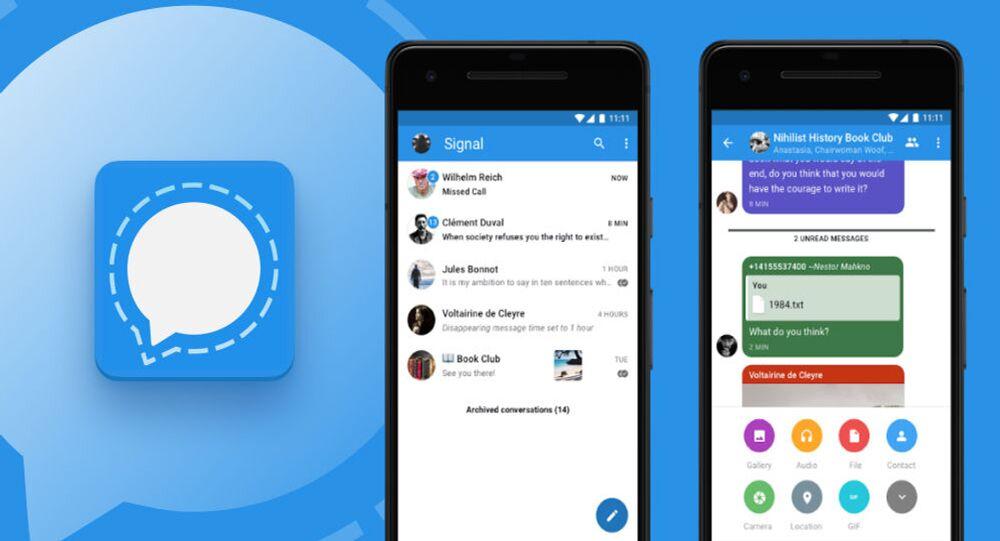 Signal, aumento degli utenti dopo critiche a Whatsapp
