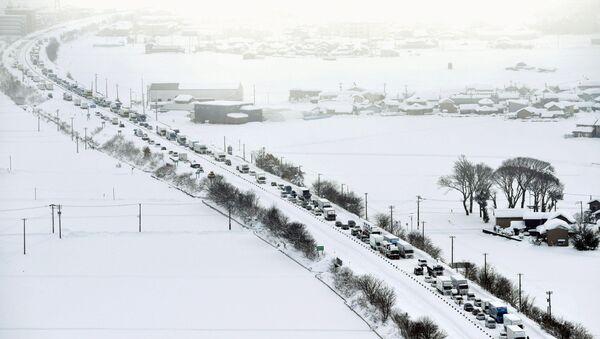 Nevicata in Giappone - Sputnik Italia