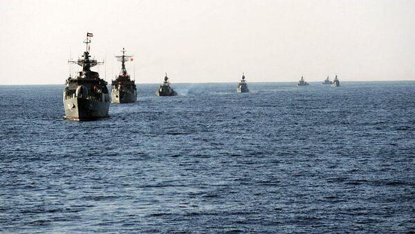 Le navi della marina militare iraniana - Sputnik Italia