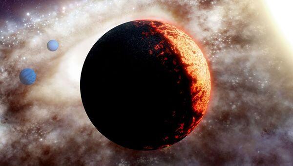 Immagine artistica di un pianeta extrasolare TOI-561b - Sputnik Italia