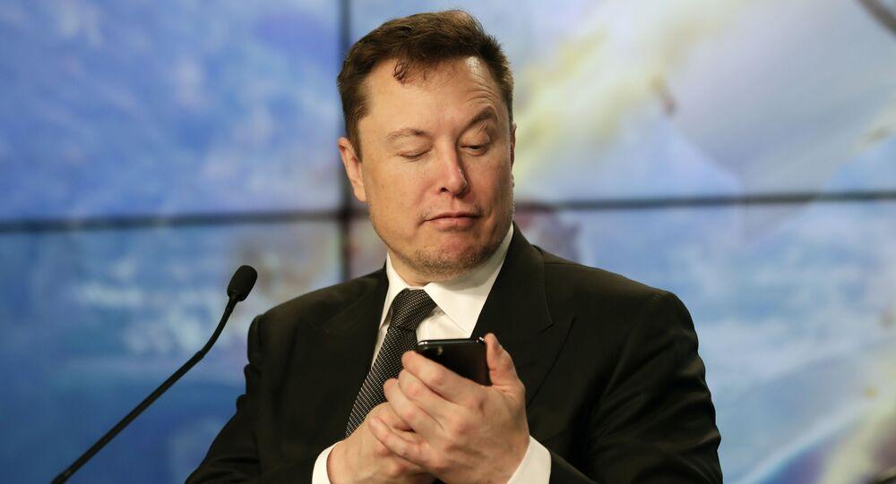 Elon Musk fondatore e CEO di Tesla e SpaceX