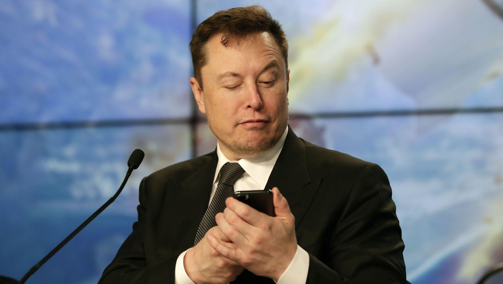 Elon Musk fondatore e CEO di Tesla e SpaceX - Sputnik Italia, 1920, 14.05.2021