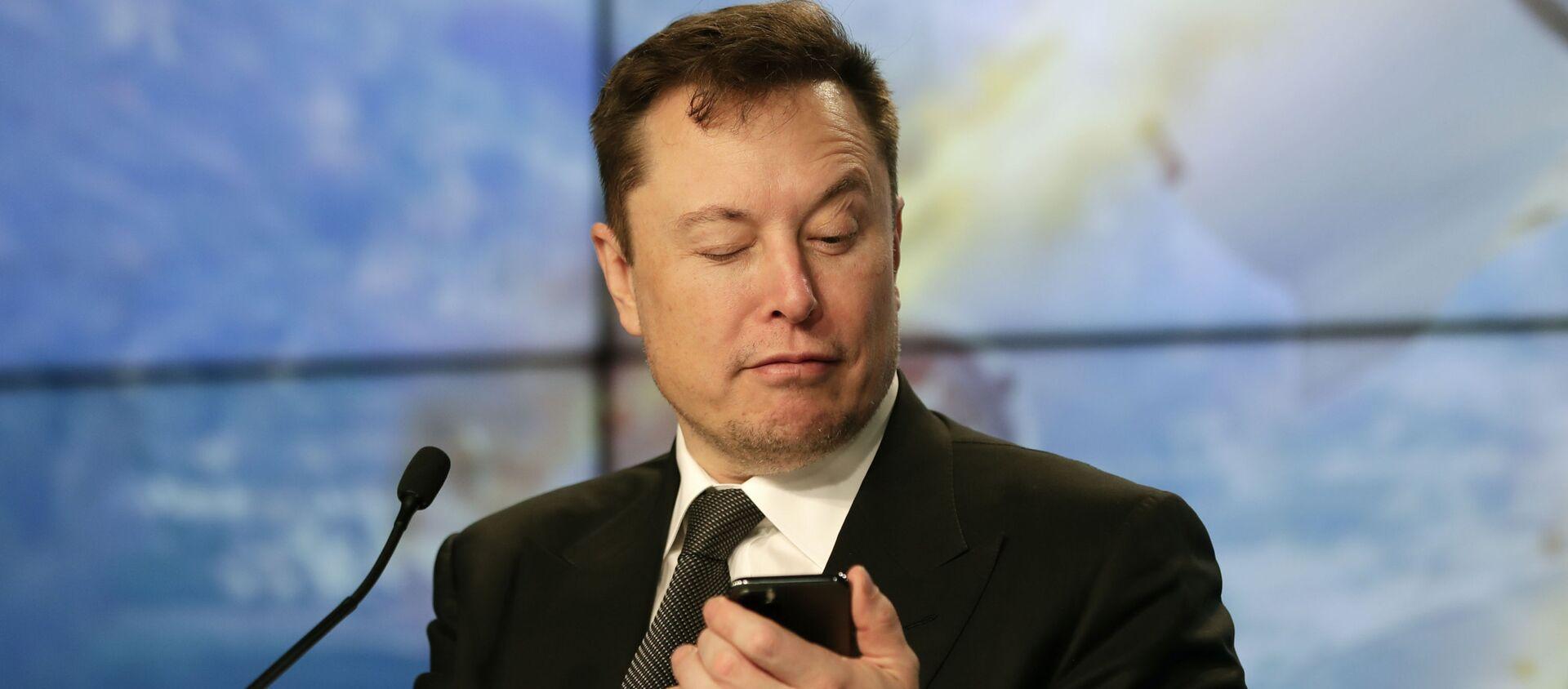 Elon Musk fondatore e CEO di Tesla e SpaceX - Sputnik Italia, 1920, 22.02.2021