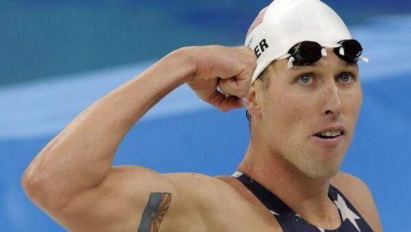 Klete Keller, nuotatore bicampione olimpico nella staffetta 4×200 metri stile libero nel 2004 e 2008 - Sputnik Italia