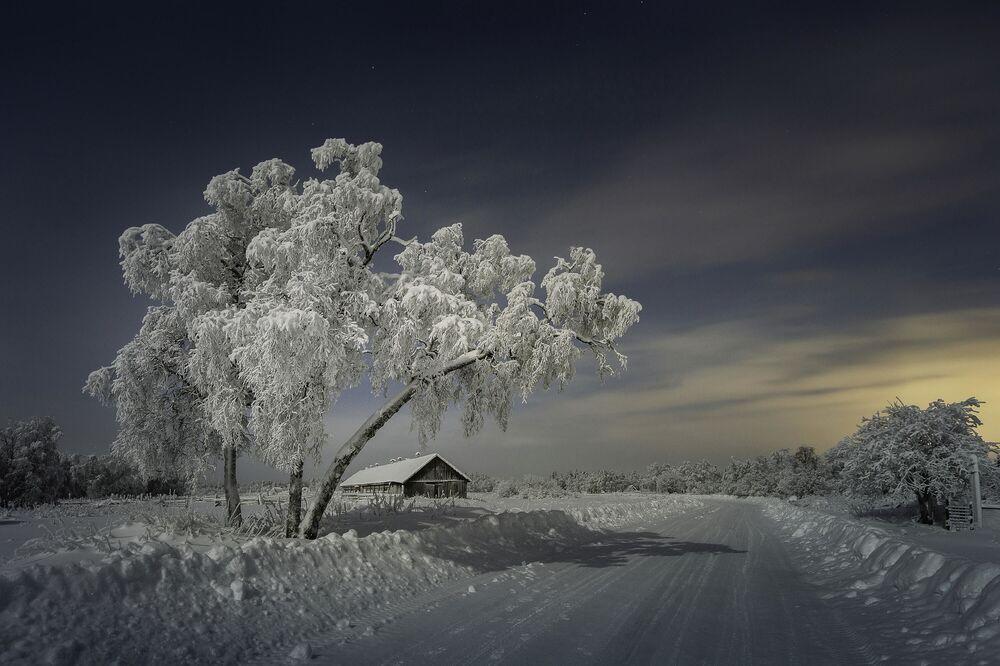 Oleg Semenkevich. Nel villaggio ..., regione di Murmansk, città di Apatity, 2020