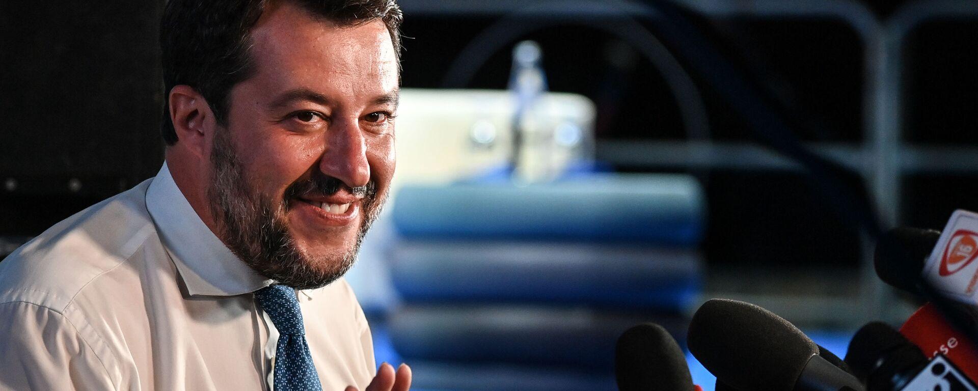 Matteo Salvini - Sputnik Italia, 1920, 10.02.2021