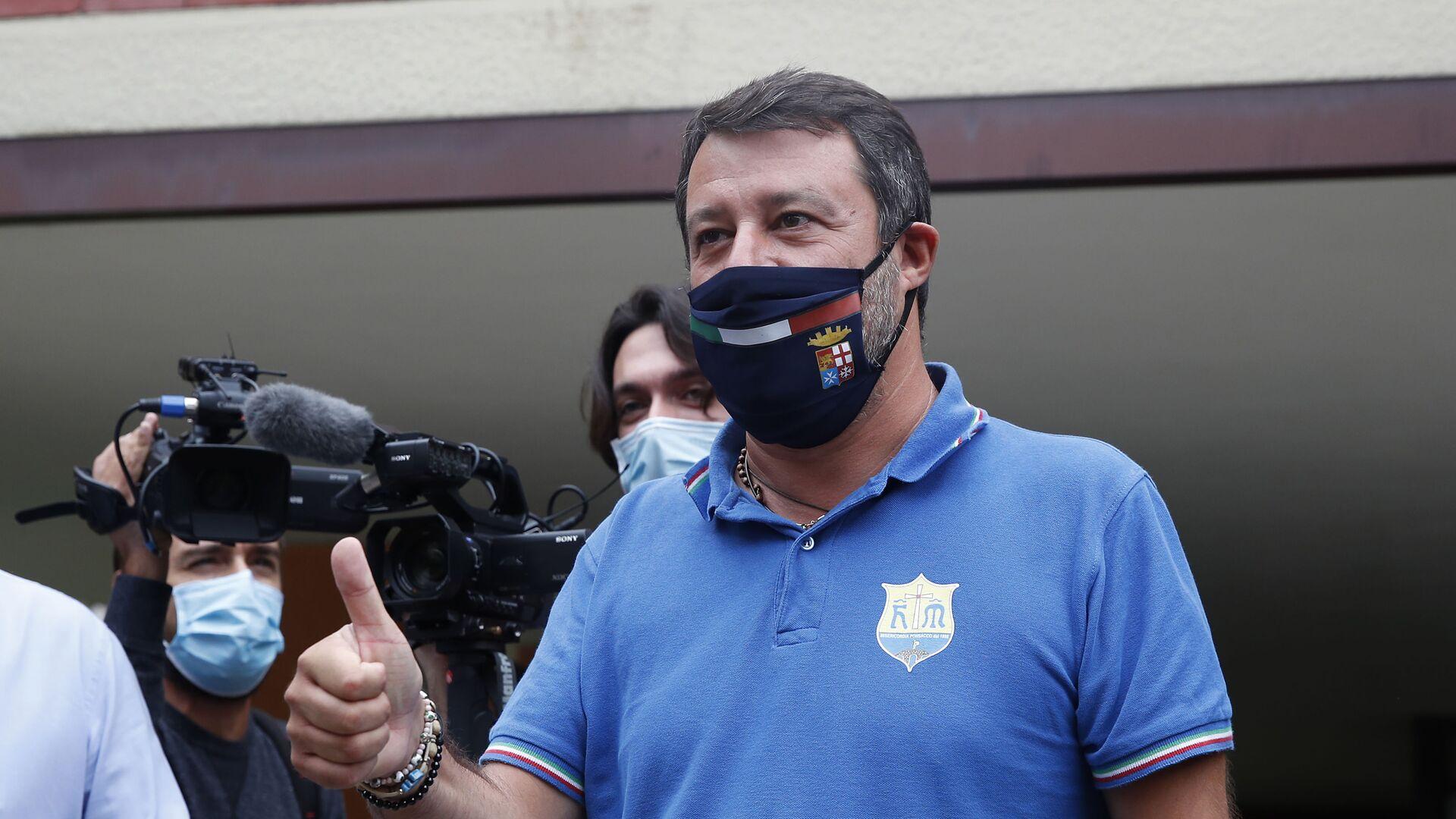 Matteo Salvini - Sputnik Italia, 1920, 10.09.2021