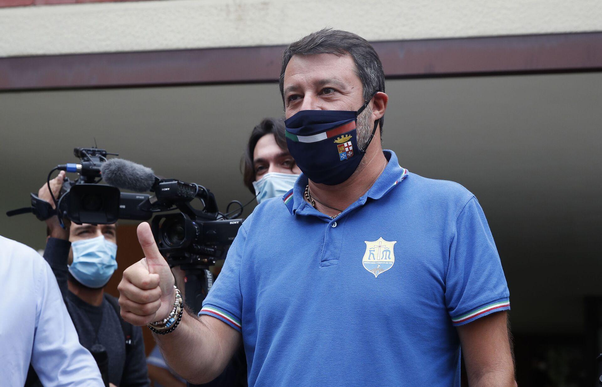 Governo Draghi, Tajani (FI) elogia Salvini: Ha fatto il salto di qualità - Sputnik Italia, 1920, 11.02.2021