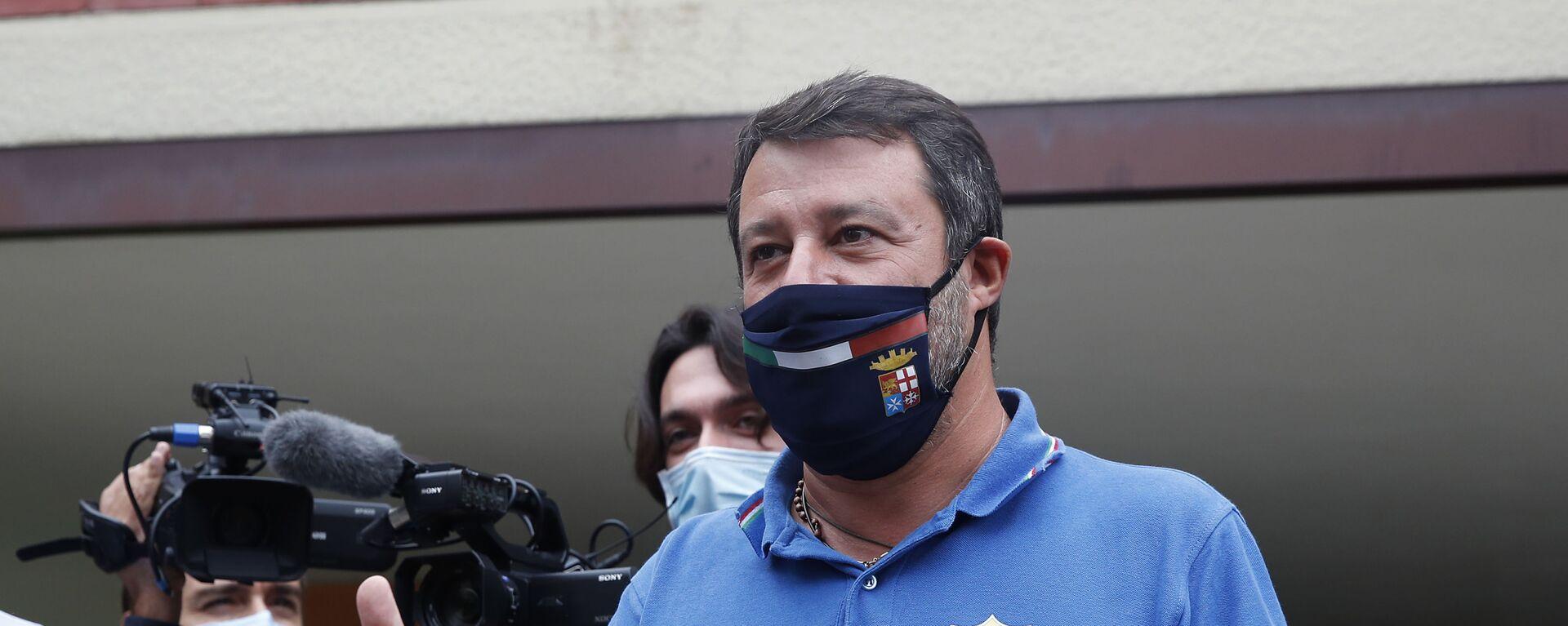 Matteo Salvini - Sputnik Italia, 1920, 03.02.2021