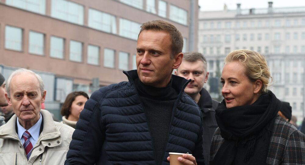 Alexey Navalny e sua moglie Julia