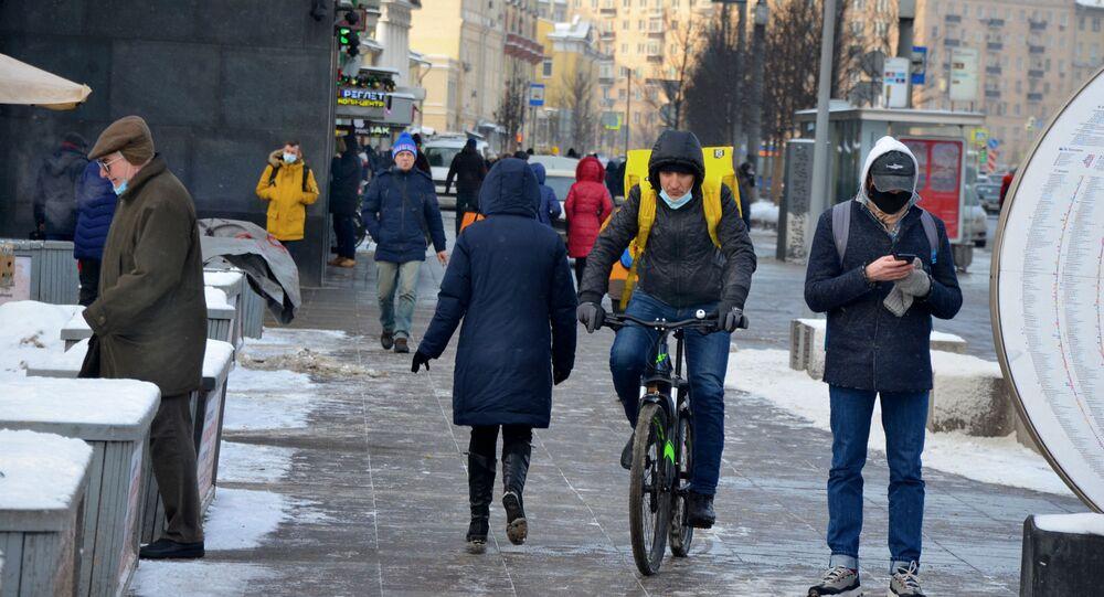 Coronavirus in Russia - Mosca, gennaio 2021