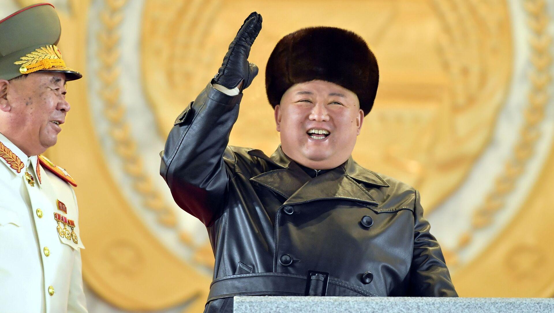 Il leader nordcoreano Kim Jong Un - Sputnik Italia, 1920, 10.02.2021