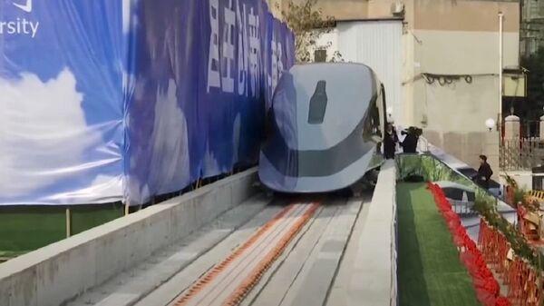 Un treno maglev cinese - Sputnik Italia