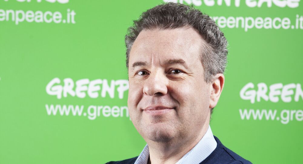 Giuseppe Onufrio - direttore esecutivo di Greenpeace Italia
