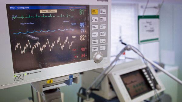 Диагностический медицинский прибор в одной из больниц Москвы - Sputnik Italia