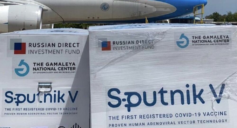 L'invio del lotto di Sputnik V destinato all'Argentina
