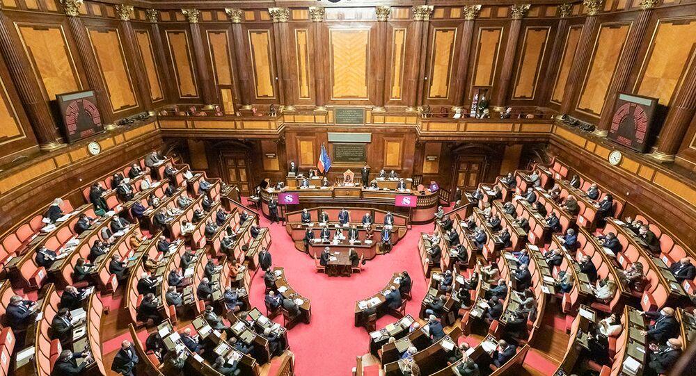 Senato della Repubblica, le Comunicazioni del Presidente Conte in vista del Consiglio europeo del 10-11 dicembre