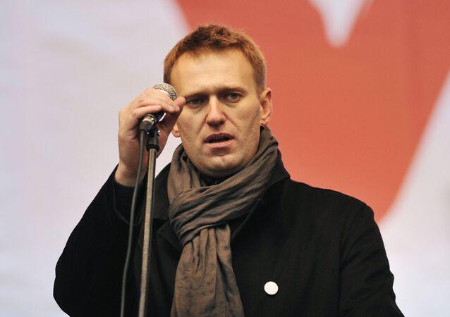 Alexey Navalny (foto d'archivio)