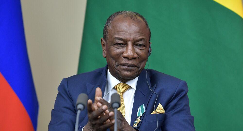 Alpha Condé, presidente della Guinea