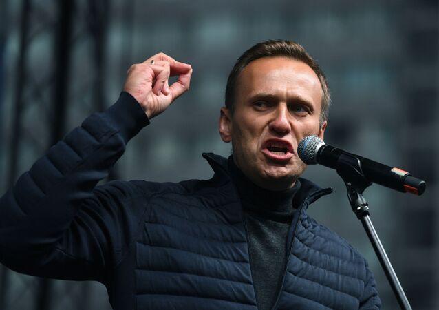 Blogger e oppositore russo Alexey Navalny (foto d'archivio)