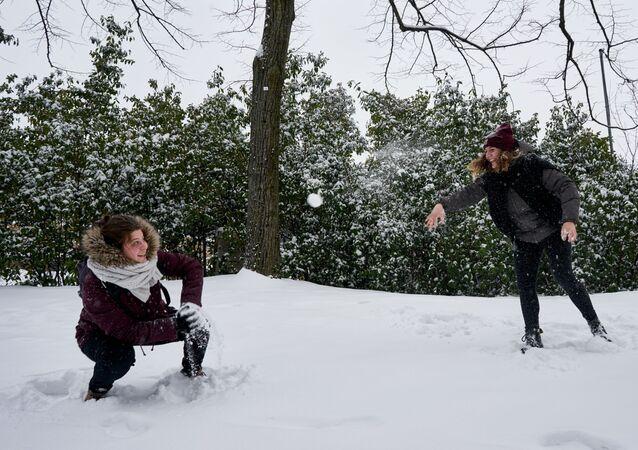 Nevicata in Italia