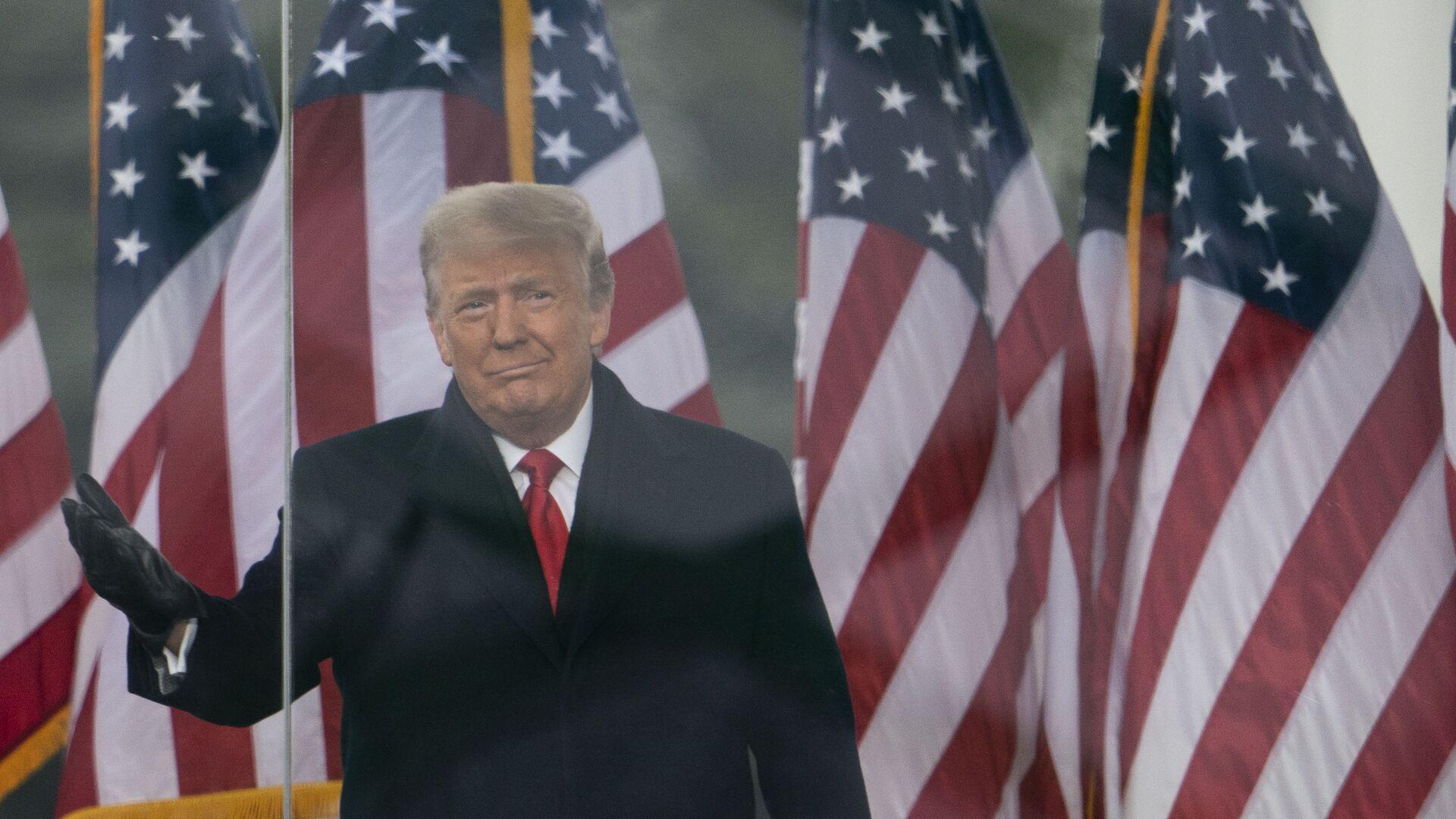 Il presidente Donald Trump - Sputnik Italia, 1920, 23.03.2021