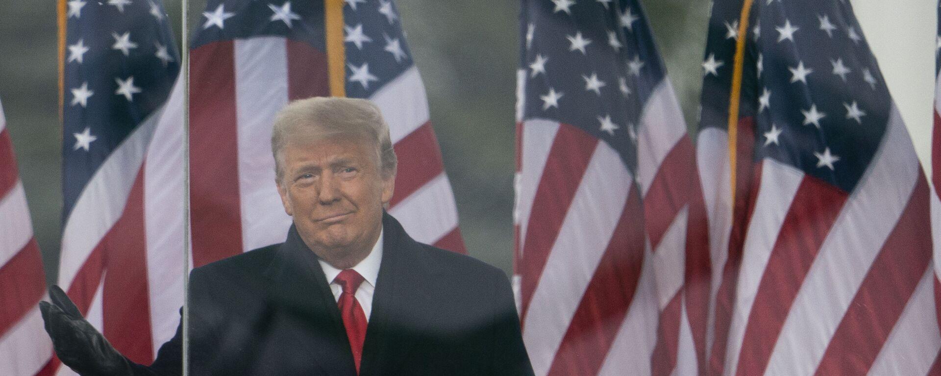 Il presidente Donald Trump - Sputnik Italia, 1920, 03.06.2021