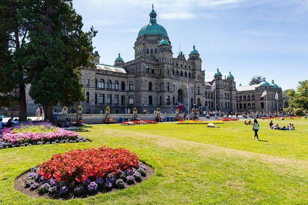 Victoria è una città del Canada, capitale della provincia della Columbia Britannica - Sputnik Italia