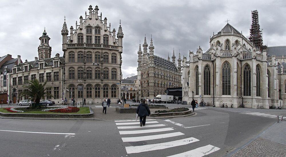 Lovanio è una città a est di Bruxelles, in Belgio, nota per i birrifici