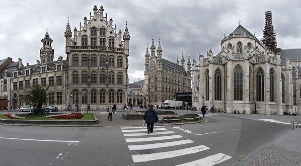 Lovanio è una città a est di Bruxelles, in Belgio, nota per i birrifici - Sputnik Italia
