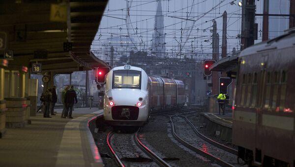 Una stazione ferroviaria in Belgio - Sputnik Italia