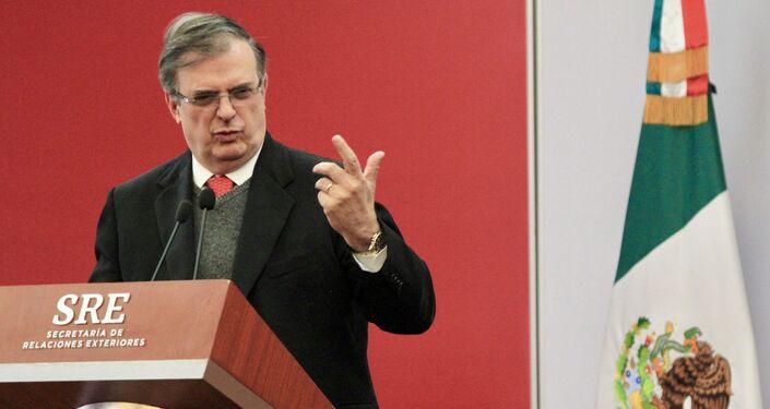 Marcelo Ebrard, ministro Esteri Messico
