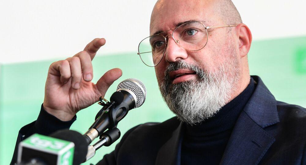 Presidente dell'Emilia-Romagna e della Conferenza delle Regioni Stefano Bonaccini