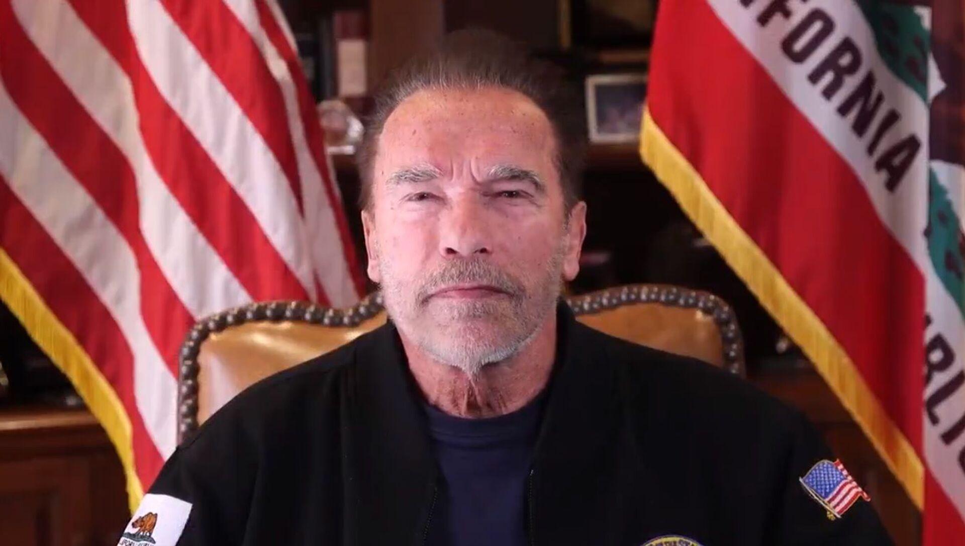 Arnold Schwarzenegger  - Sputnik Italia, 1920, 19.03.2021