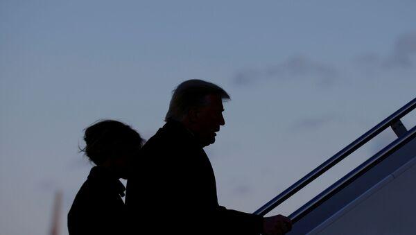 Donald Trump lascia la Casa Bianca - Sputnik Italia
