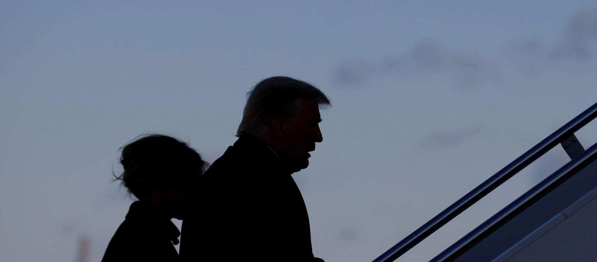 Donald Trump lascia la Casa Bianca - Sputnik Italia, 1920, 17.02.2021